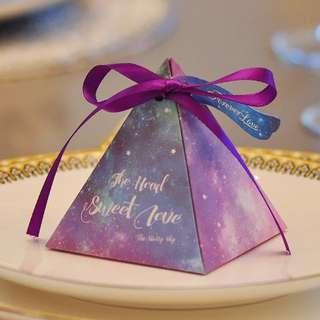 禮盒 回禮 小禮盒 小禮物 放朱古力 金莎禮盒 裝蜜糖