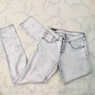 Marble design pants