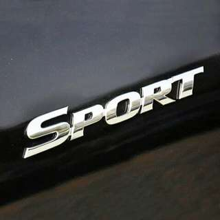 SPORTS car sticker