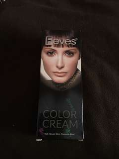 Feves color cream 60ml warna maple pollage  red