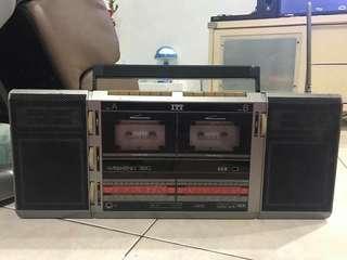 Vintage ITT Radio for sale (cassette functions). Interested pm. Thanks.