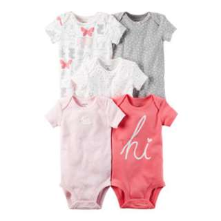 BIG SALE Authentic Carter's Bodysuit Pack