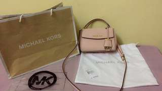 Michael Kors Ava XS crossbody leather