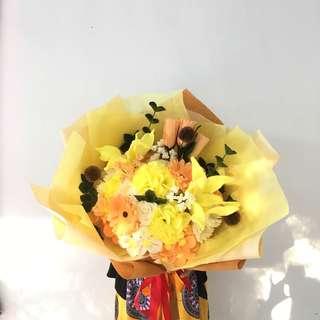 Big bouquet (buket bunga flanel)