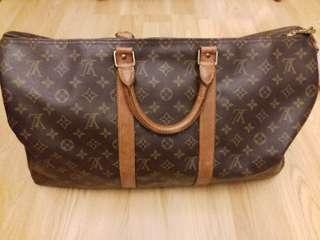 正版LV Louis Vuitton 旅行袋 speedy 55