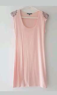 Luxx baby pink dress small
