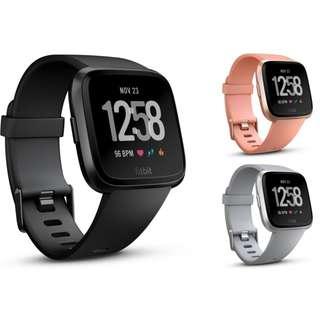 旺角實店銷售全新 FITBIT VERSA 健康手錶 香港代理行貨一年原廠保養