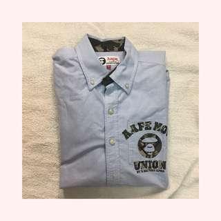 Aape Long Sleeve Oxford Shirt