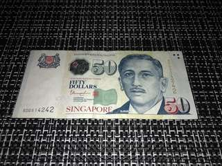 Portrait Series S$50 Note