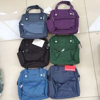 Authentic Anello 3Way Bag