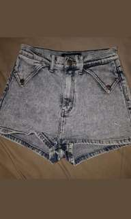 ziggy denim size 28 high waist shorts