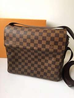 Authentic Louis Vuitton Naviglio N45255 Messenger Bag