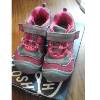 Pink & Gray Rubber Shoes