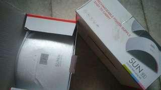 SUN 9S Curing Light Nail Dryer LED UV Lamp Salon Manicure Pedicure 24W Portable