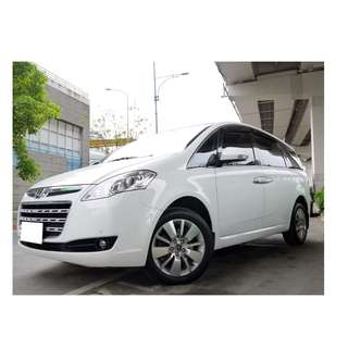 2012年 納智捷 M7 新車110萬最頂級 可全額貸款 找錢