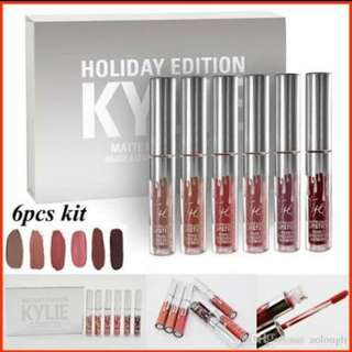 ❗Premium Copy❗Kylie Holiday Edition Lipstick Set Of 6