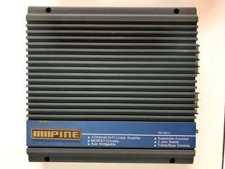 Alpine Power Amplifier