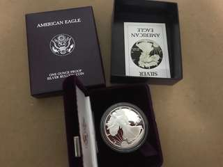 1986 American Eagle Silver Proof coin
