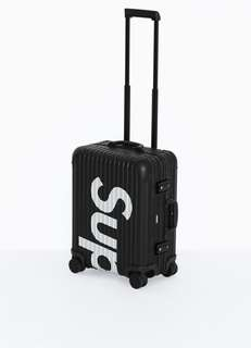 Rimowa Supreme Luggage Black 45L
