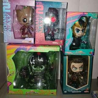 Assorted Marvel Cosbaby