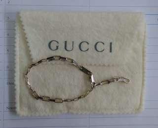 Gucci bracelet 👑925 silver 純銀女裝手鏈