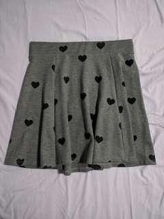 DIVIDED Hearts Skirt