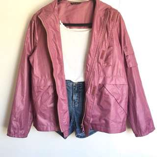 Old rose jacket (best ootd)