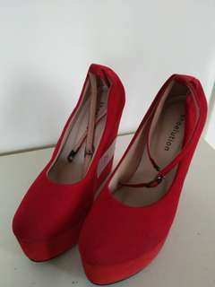 TURUN HARGA! RED WEDGES
