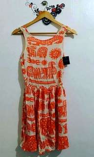 Topshop aztec dress