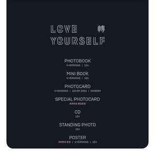 BTS-Love Yourself 轉: Tear [3rd Album]