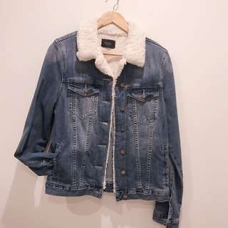 DECJUBA denim jacket size 10
