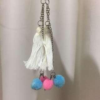 Tassel earring / anting