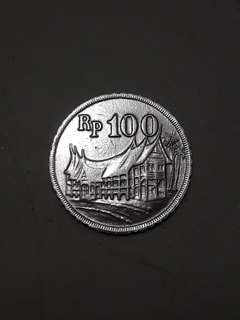 Uang 100 kelapa dua 71
