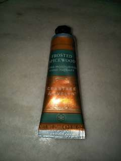 Offer.  Frosted Spicewood Ultra Moisturise Hand cream