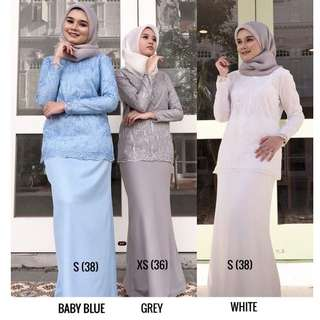 Irdina Lace Exclusive Peplum Kurung