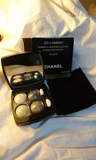 Chanel Eye Shadow 32 LILIUM les 4 ombres