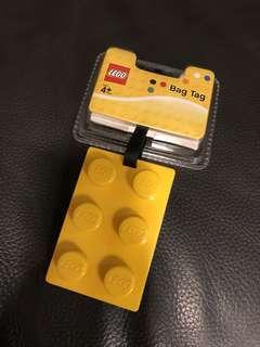 Lego Bag Tag