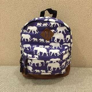 Toddler / Child / Kid Blue Safari Bag