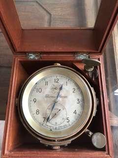 Old marine clock