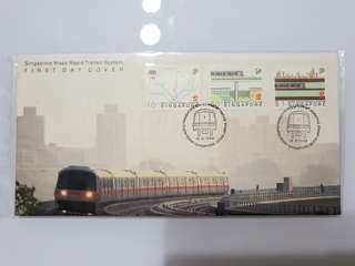 First Day Cover mrt mtr metro Subway