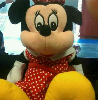 Teddy Bear Minnie Mouse