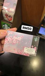 Starbucks card limited edition from Korea!