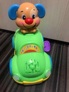 音樂玩具車