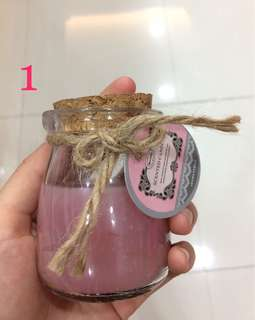 Scented Candle in Tube/ Lilin Aromaterapi