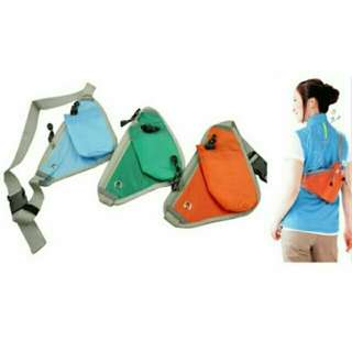 SPORTS BELT BAG WITH WATER BOTTLE PACK