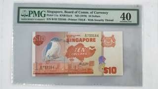 $10 Error note
