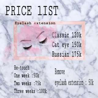 Eyelash extension @beautywithus.studio