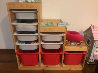 IKEA trofast shelf