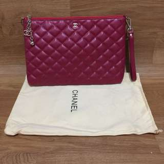 pouch bag chanel