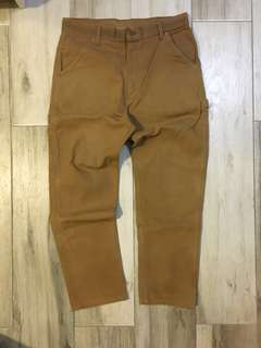Carhartt heavy weight canvas worker pants 70%new